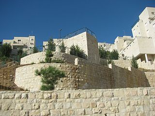Har Homa neighborhood and Israeli settlement in East Jerusalem