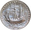 Pilgrim tercentenary half dollar commemorative reverse.jpg