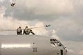 Pilots watching The Black Eagles (7570400540).jpg