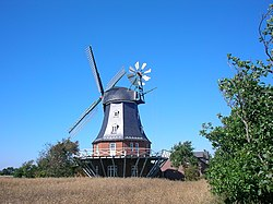 The windmill in Borgsum