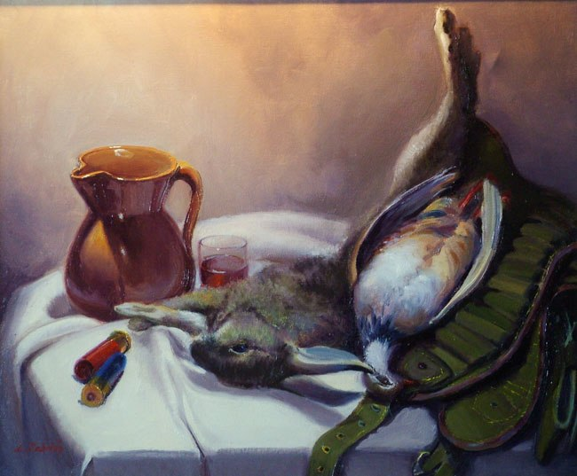 Pintura al Oleo de Luis Cebrián