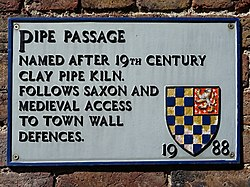 Pipe passage lewes