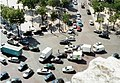 Place Charles-de-Gaulle from the Arc de Triomphe, July 2001.jpg