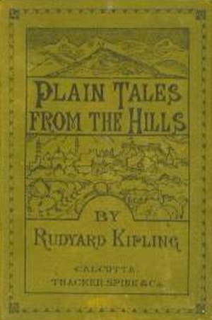 Plain Tales from the Hills - Image: Plaintalesfromthehil ls 1888