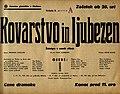 Plakat za predstavo Kovarstvo in ljubezen v Narodnem gledališču v Mariboru 9. marca 1940.jpg