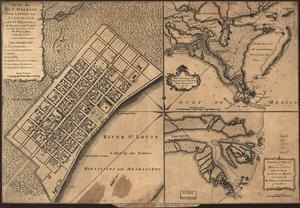 Pierre Le Blond de La Tour - The layout of the Vieux Carre was largely based on De la Tour's plan for New Biloxi.