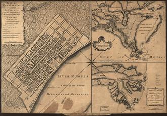 Pierre Le Blond de La Tour - The layout of the Vieux Carre was largely based on De la Tour's plan for New Biloxi.