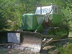 Т-100 (трактор) — Википедия