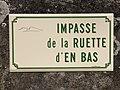 Plaque Impasse Ruette Bas - Solutré-Pouilly (FR71) - 2021-03-02 - 1.jpg