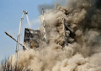 Progressive collapse - Plasco building moment of progressive collapse .