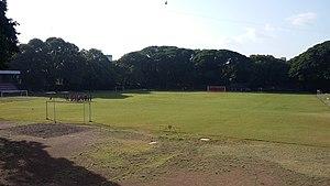St. Vincent's High School - School Playground