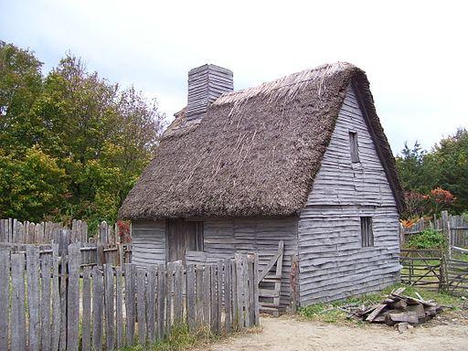 Plimoth Plantation farm house