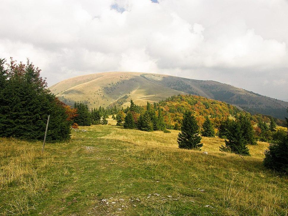 Ploská, Veľká Fatra (SVK) - view from under Kýšky