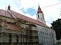 Podlaskie - Knyszyn - Knyszyn - kosciol pw. sw Jana Apostola i Ewangelisty - tyl.JPG