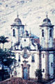 Pointillistic photo of a church in Ouro Preto, Brazil. B 005.jpg