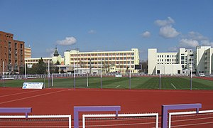 Stadionul Știința - Image: Poli Timisoara Mecanica sport 1