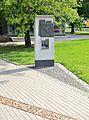 Pomnik granic getta warszawskiego Bonifaterska Międzyparkowa.JPG