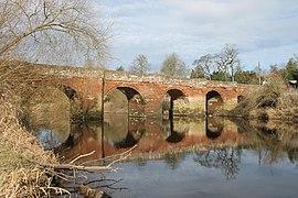 Pont Rhedynfre - Holt or Farndon Bridge, Holt, Wrexham, Wales 16.jpg