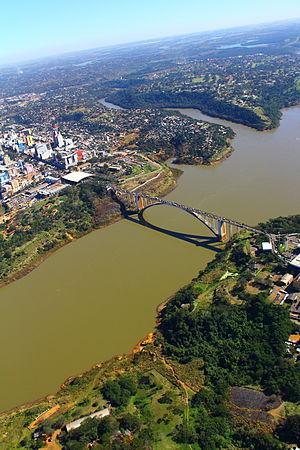 Ponte da amizade - Friendship bridge- Paraguay (9623754507)