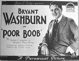The Poor Boob - Lobby card
