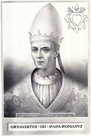 Pope Gregory IV - Image: Pope Gregory IV