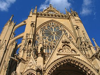 Jacques-Bénigne Bossuet - St. Etienne's Cathedral in Metz, where Bossuet was made a canon at age 13 in 1640