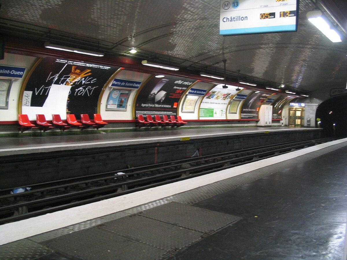 Porte de saint ouen wikipedia wolna encyklopedia - Porte de saint ouen paris ...