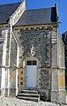 Porte renaissance de la sacristie de l'église Saint-Germain de Saint-Germain-Langot.jpg