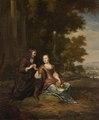 Porträtt av ungt par - Hallwylska museet - 89394.tif