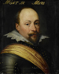 Portrait of Daniel de Hertaing (?-1625), Lord of Marquette