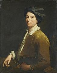 Portrait d'un peintre, peut-être autoportrait ?