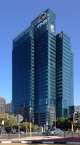 Portside Tower - The Completed Portside Tower in 2014.