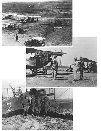 Flying Division, Air Training Command - Post World War I flight training at Kelly Field Texas.
