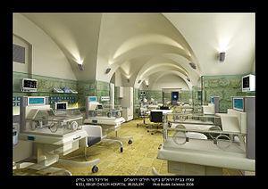 Bikur Cholim Hospital - Bikur Cholim neonatal unit by Moti Bodek Architects