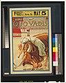 Poster for Quo Vadis (1913 silent film) - Lygia Bound to the Wild Bull - Original.jpg