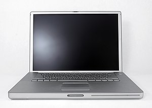 "PowerBook - A PowerBook G4 (15.2"") from 2003."