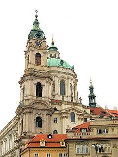 St. Nicholas Church (Malá Strana) Church in Prague, Czech Republic