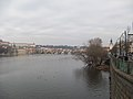 Praha, Vltava z mostu Legií - panoramio.jpg