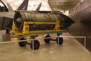 Pratt & Whitney F119 - YF119 fan.