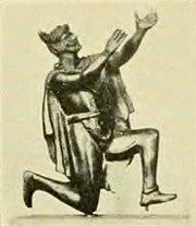 Praying Germanic man 1890
