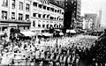 Preparedness Parade members marching down 2nd Ave, June 10, 1916 (SEATTLE 1900).jpg
