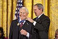 President George W. Bush Presents the Presidential Medal of Freedom to Actor Andy Griffith.jpg