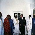 President John F. Kennedy with Parliamentary Delegation from Nigeria (04).jpg