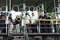 President Rodrigo Duterte speaks with Philippine Drug Enforcement Agency (PDEA) Director Isidro Lapeña and Pampanga Governor Lilia Pineda during his visit to the seized shabu laboratory in Arayat, Pampanga on September 27.jpg