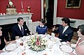 President Ronald Reagan and Sylvester Stallone in the Red Room.jpg