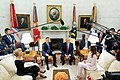President Trump and the First Lady Visit with the President of Poland and Mrs. Duda (48055424181).jpg