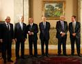 Presidente interino Michel Temer, o ministro do MRE, José Serra, o governador Pezão e o prefeito do Rio, Eduardo Paes, recebem o presidente de Portugal, Marcelo Rebelo de Sousa.png