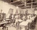 Press room in The Times of India office in Bombay, November 1898.jpg