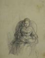 Presumível representação de D. Maria II a ler - Fernando II de Portugal.png