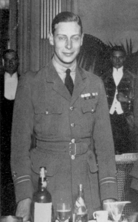 Prince Albert in RAF uniform